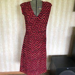 LAUREN Ralph Lauren Mock Wrap Dress